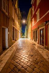 Altstadtgasse, Zadar, Dalmatien, Kroatien