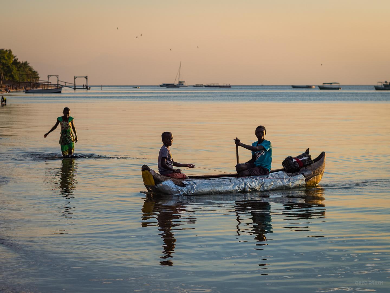 Alu foil canoe