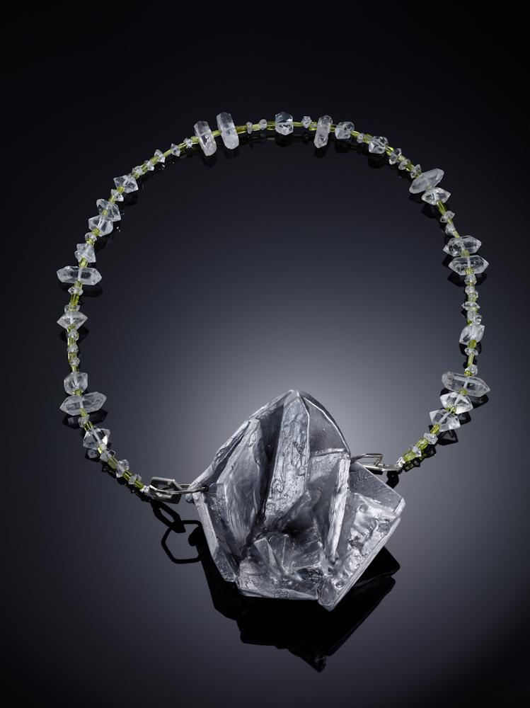 Alukristall Collier