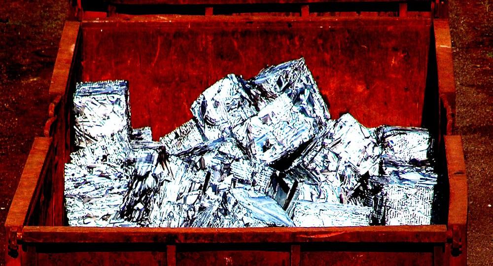 Aluminiumwürfel 2