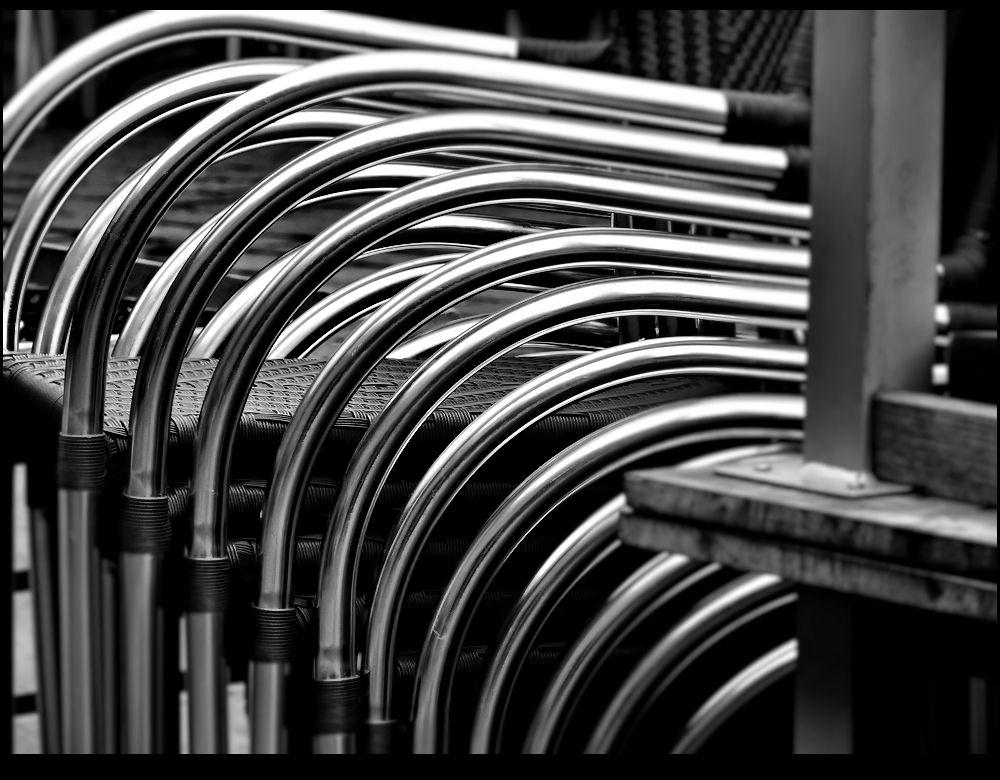 Aluminum armrests