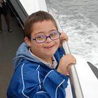 alvaro en el barco