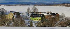 Am 05.02. 2020 wenige Stunden Winter im mittleren Osterzgebirge,,,