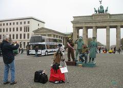 am 05.11.2008 am Brandenburger Tor