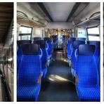 ... am 22.03.2020 im City-Tunnel in Leipzig ...