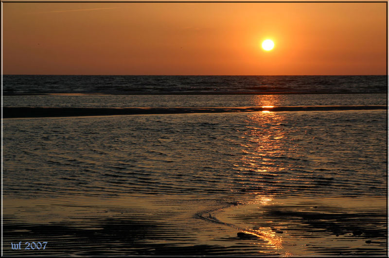 Am Abend am Wasser