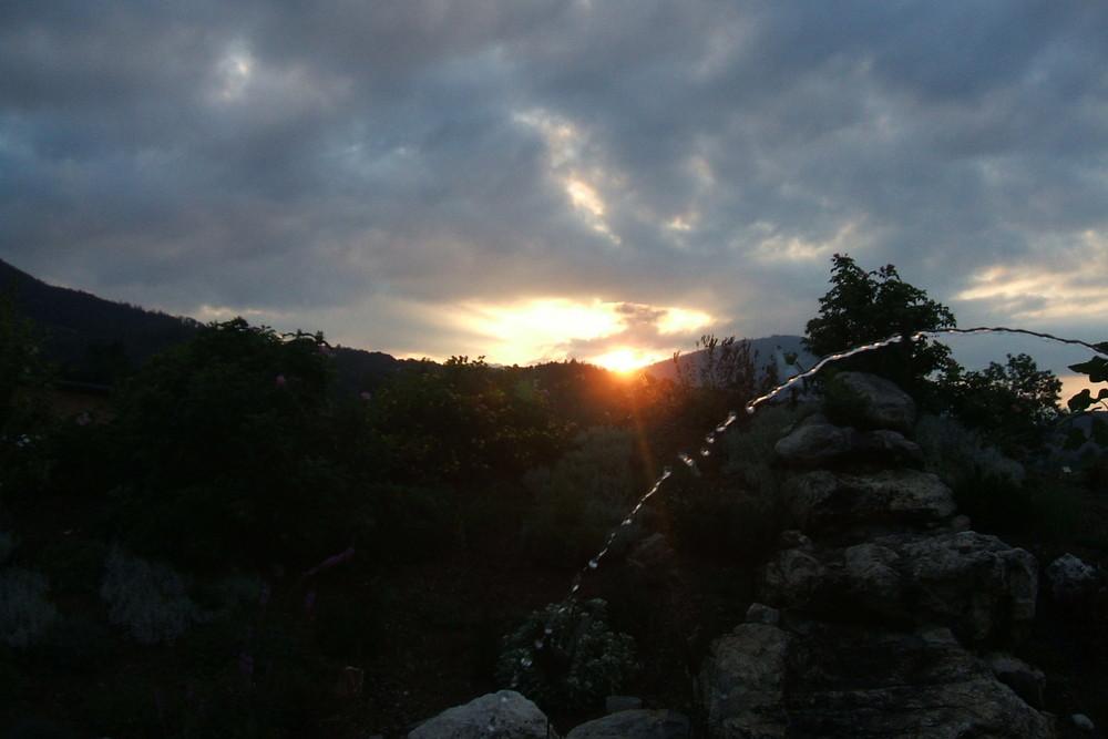 Am Abend in Niederösterreich