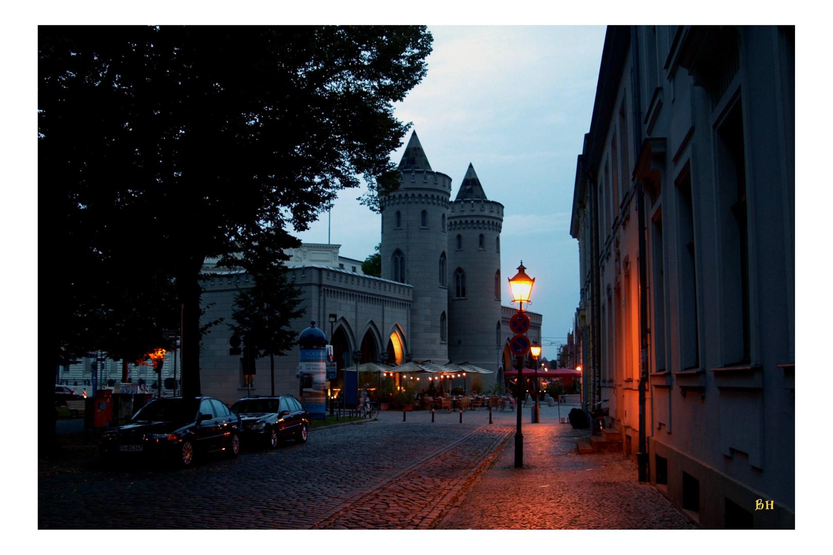 Am Abend in Potsdam