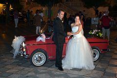 Am Abend nach einer sizilianischen Hochzeit