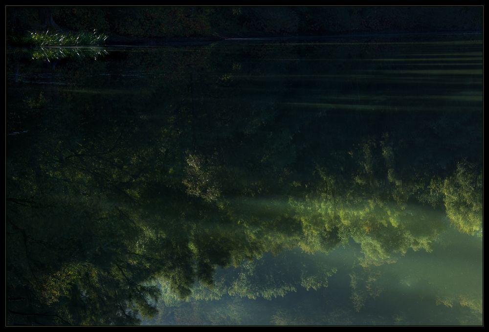 Am Altwasser... - oder: ...trügerische Idylle...
