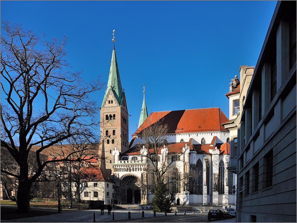 Am Augsburger Dom