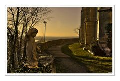 am Bergfriedhof...