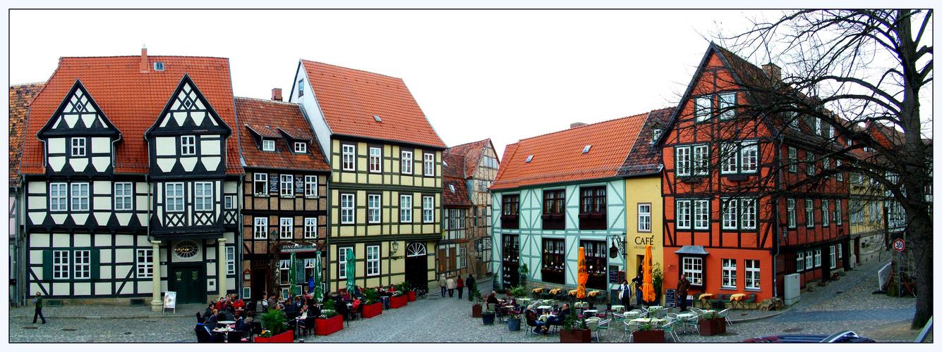 Am Burgberg von Quedlinburg