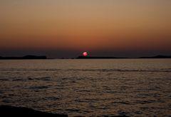 Am Cafe del Mar auf Ibiza