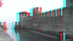 Am Castello Scaligero in Sirmione