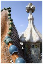 Am Dach des Casa Batlló