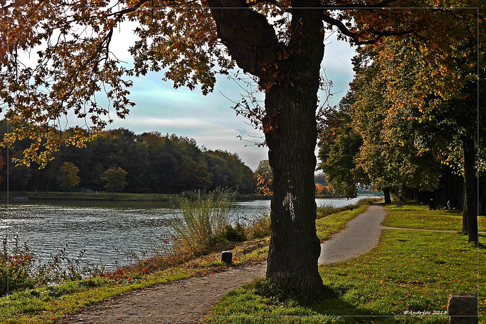 Am Dortmund- Ems- Kanal in Senden