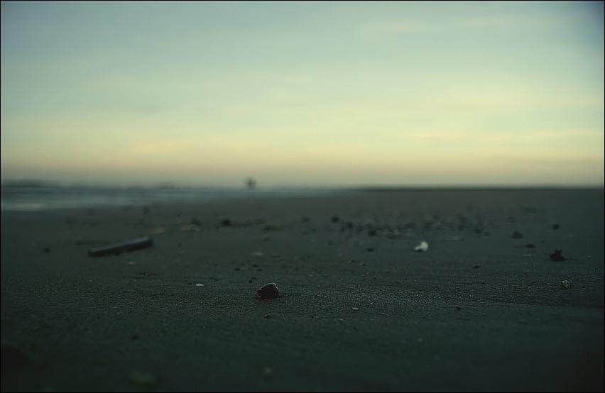 Am Ende Des Strandes Liegt Die Einsamkeit