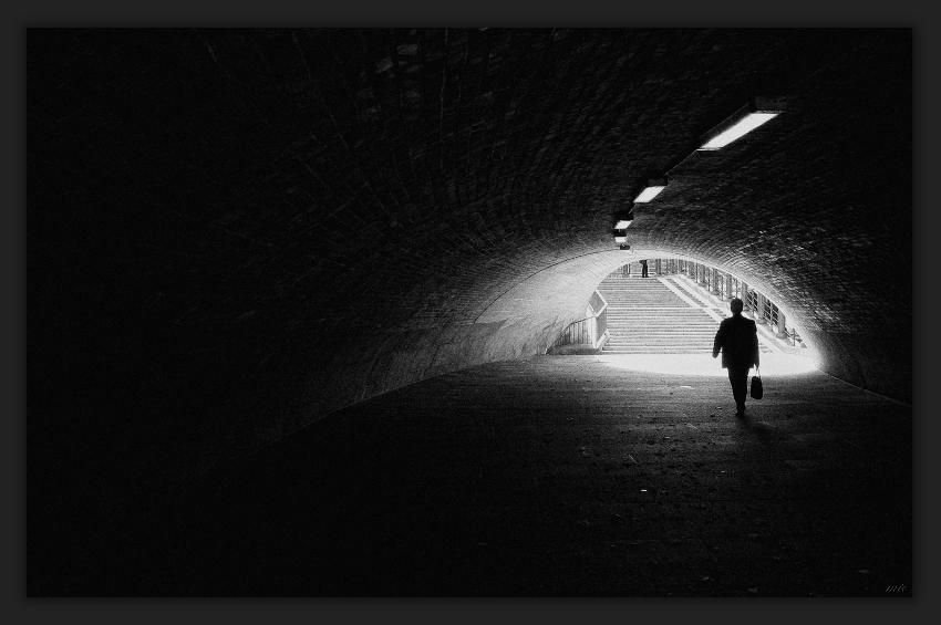 ...am Ende des Tunnels
