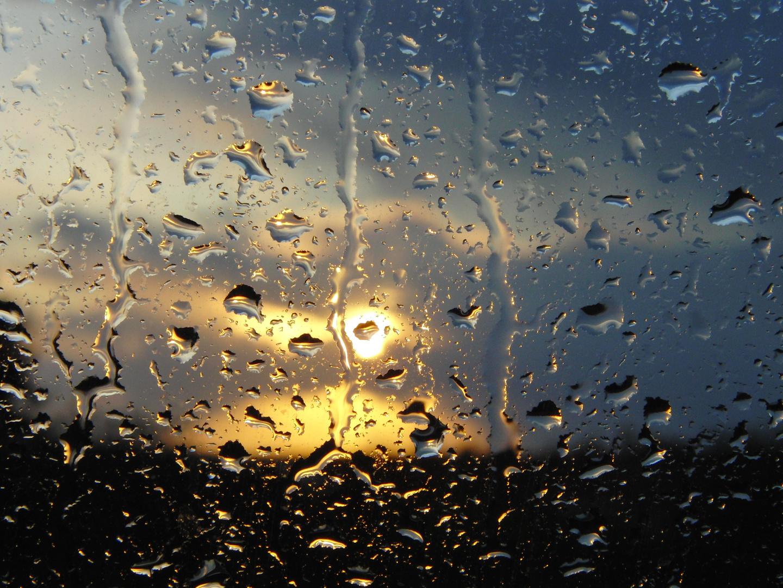 Am Ende eines Regentages