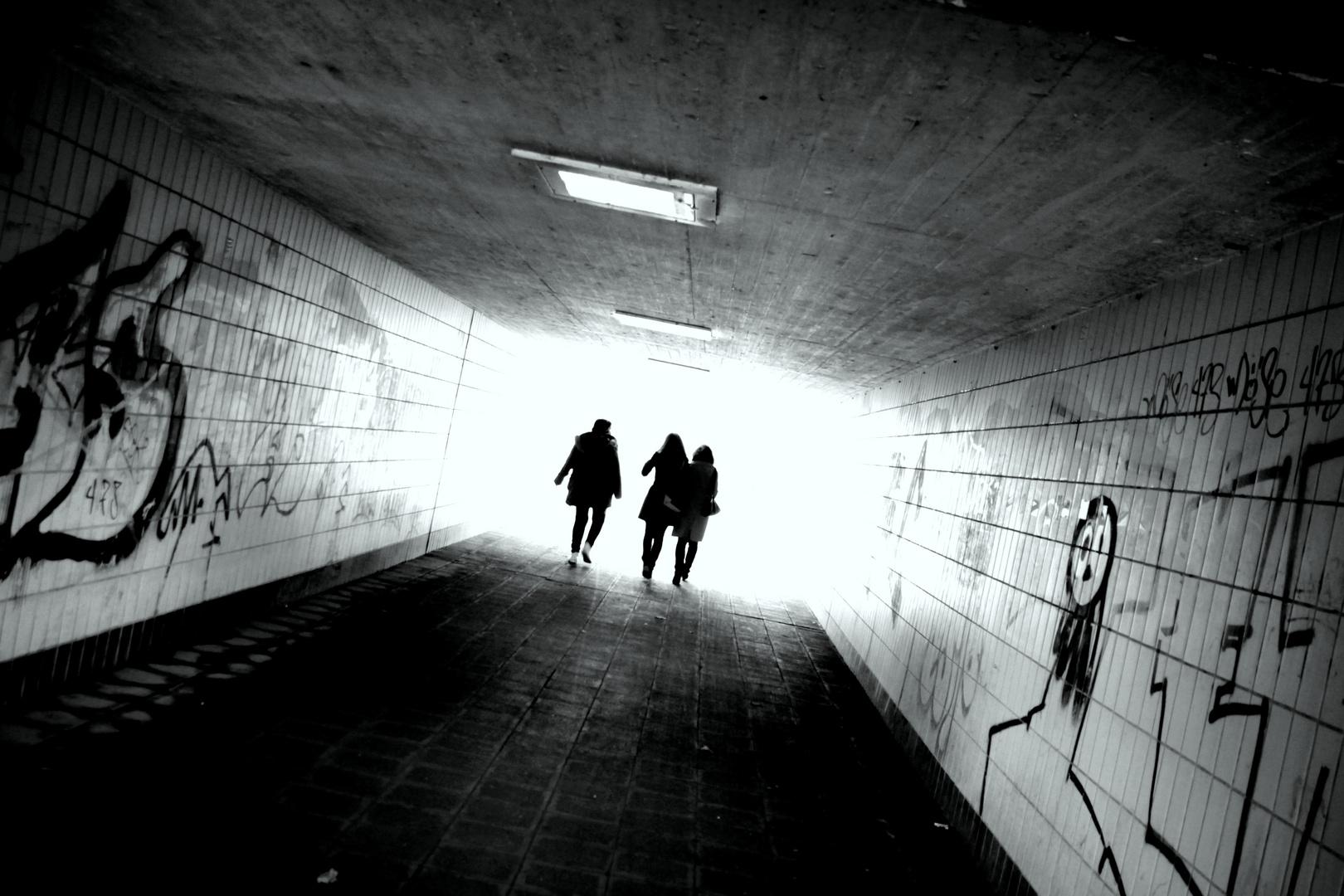 Am Ende vom Tunnel...