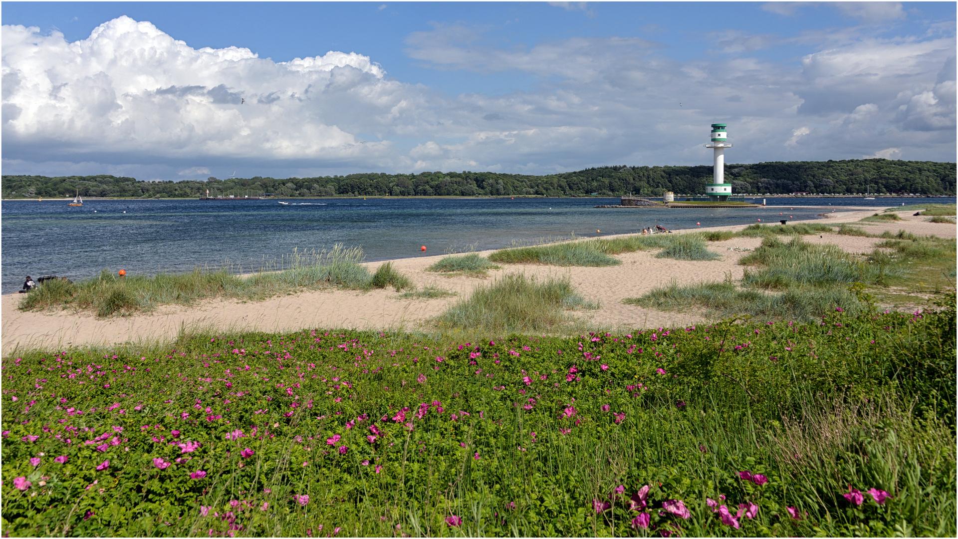 Am Falckensteiner Strand in Kiel