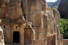 Am Felsenkloster Geghard Armenien
