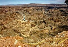 ... am Fischriver-Canyon ...