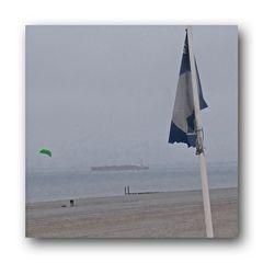 am FKK Strand war nichts los