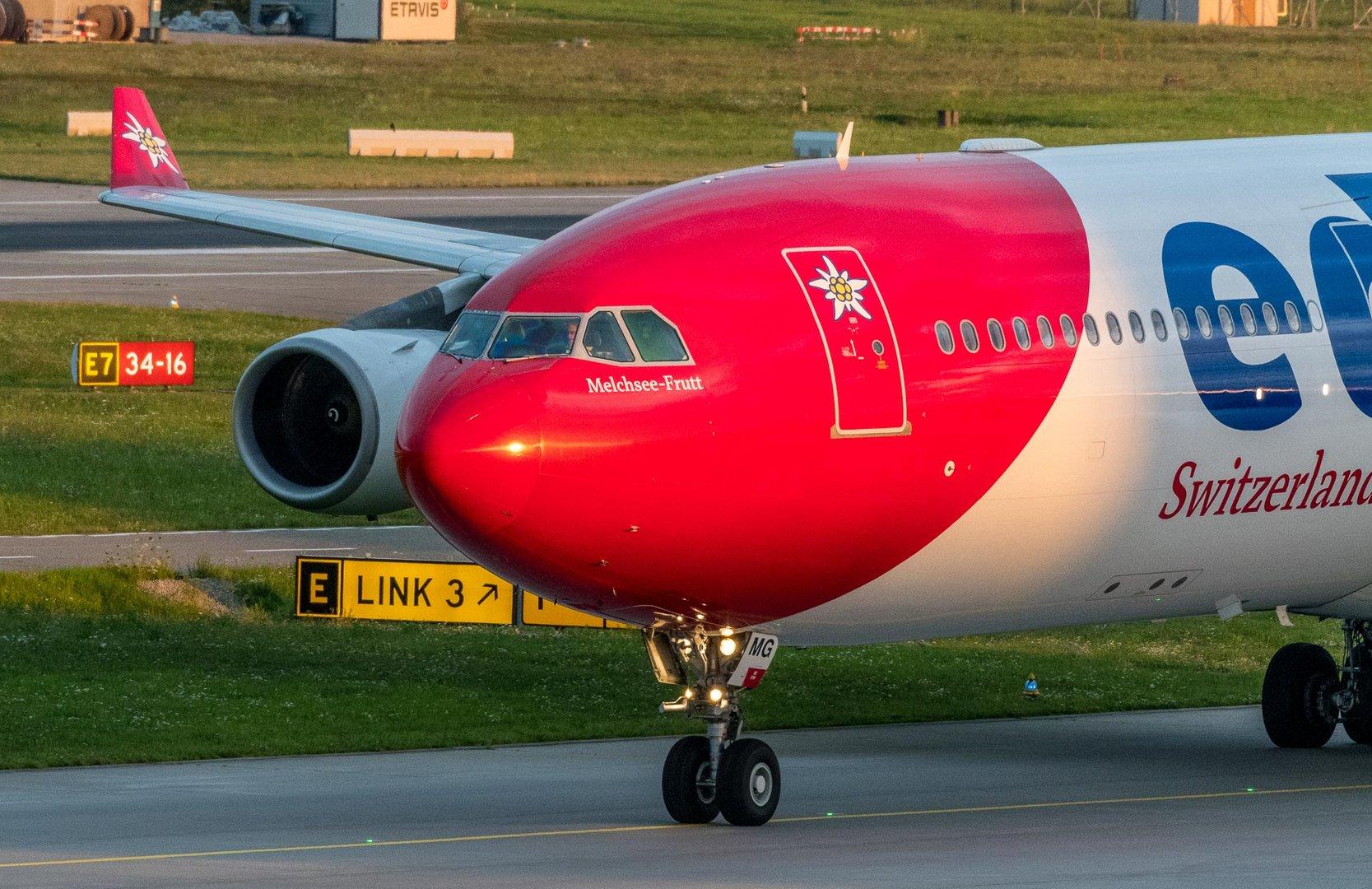 am Flughafen Zürich