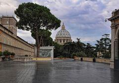 Am frühen Morgen in den Vatikanischen Museen