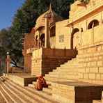 Am Gadi Sagar See bei Jaisalmer