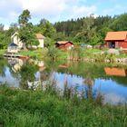 Am Götakanal bei Bratam Sluss......
