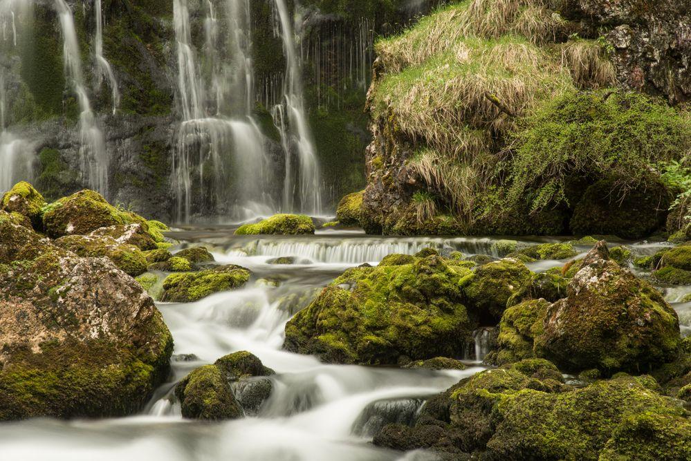am Gollinger Wasserfall