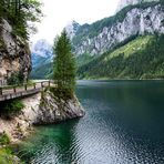 Am Gosausee....