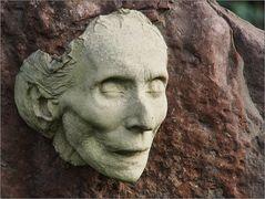Am Grab von Dorothea Neff