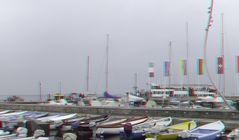 Am Hafen von Bardolino am Gardasee