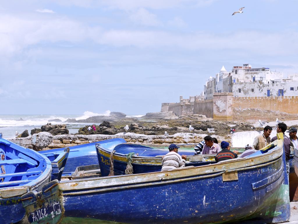 Am Hafen von Essaouira  04/2011