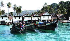 Am Hafen von Ko Phi Phi
