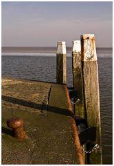 am Hafen von Schiermonnikoog
