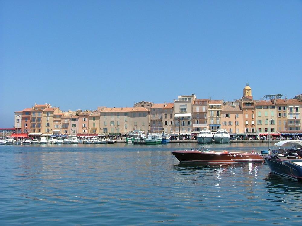 am Hafen von St. Tropez