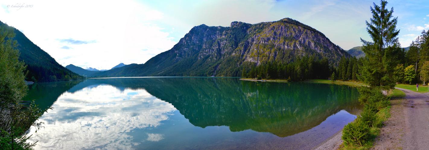 Am Heiterwanger See in Tirol