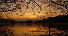 Am Hochrhein vor Sonnenaufgang