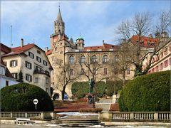 Am Hohenzollern-Schloss Sigmaringen