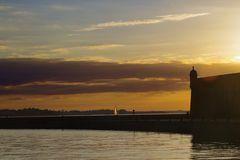 am Kai von Saint Malo