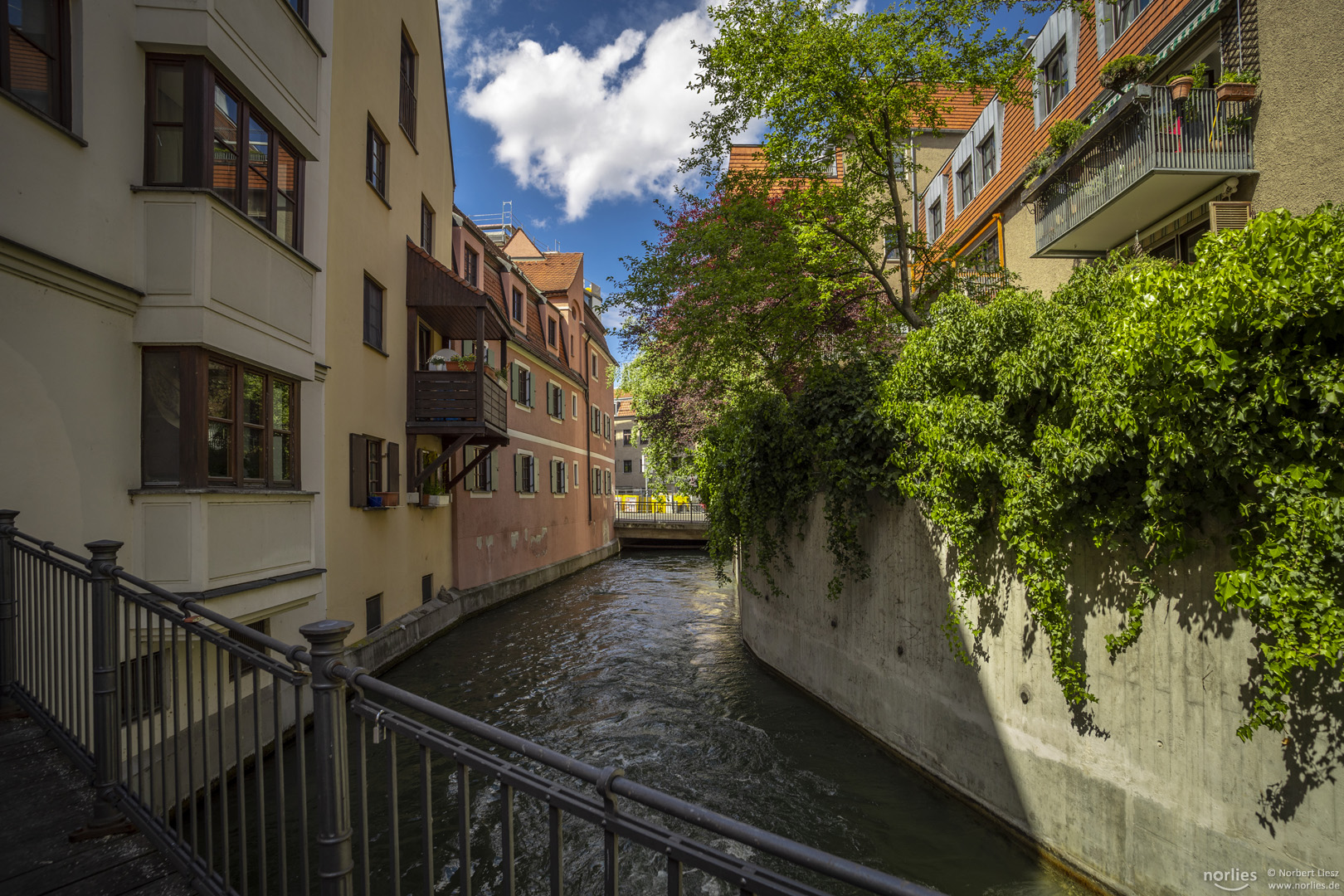 Am Kanal in der Altstadt