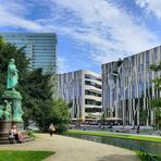 Am Kö-Bogen in Düsseldorf