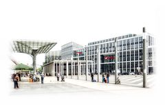am Kölner Hauptbahnhof
