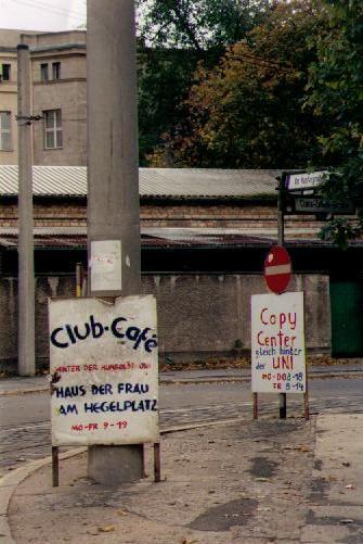 am Kupfergraben, wo Hegel wohnte ...