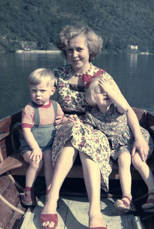 Am Lago di Lugano 1955